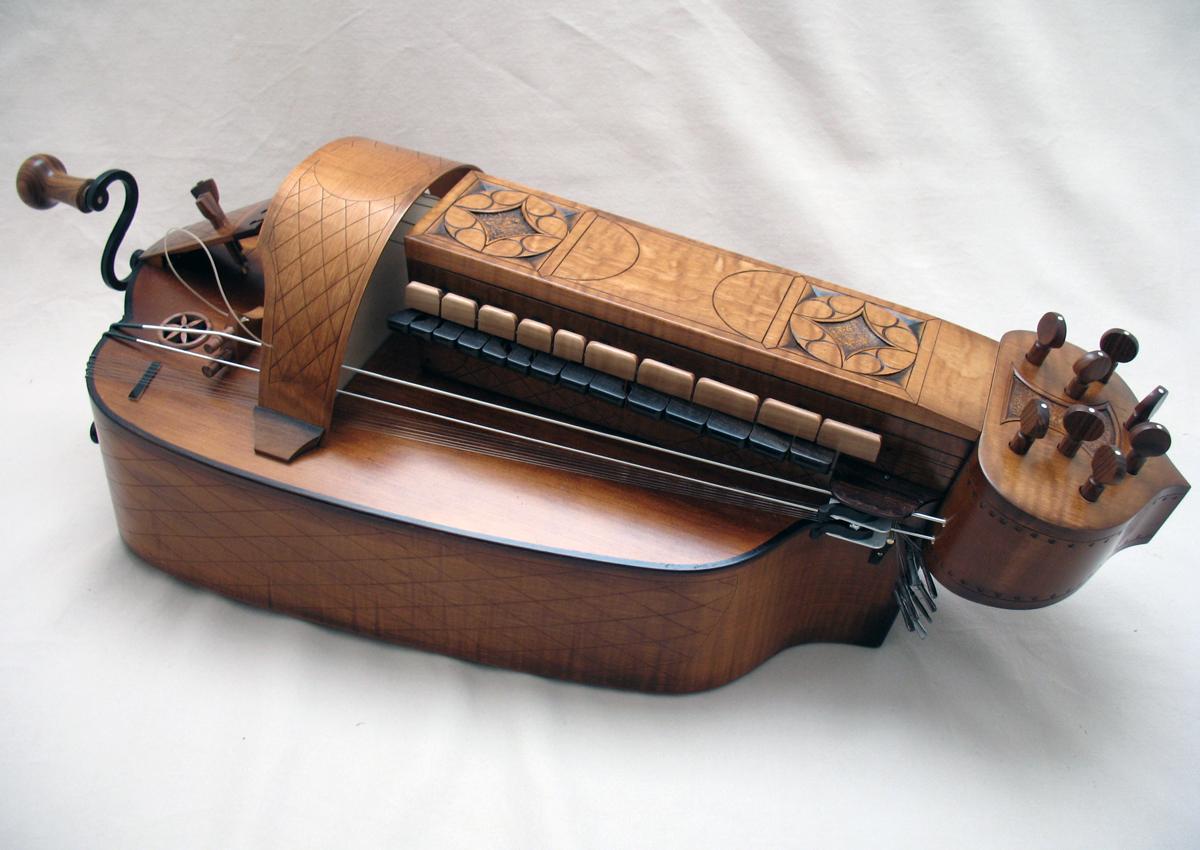 Vielle médiévale VM-003